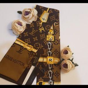 Luis Vuitton silk scarf